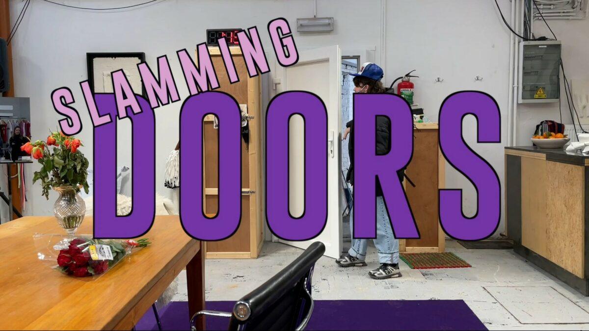 Histoire(s) du théâtre IV: Slamming Doors